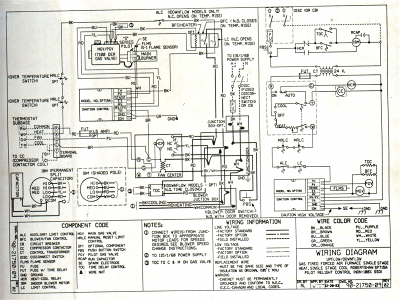 Magnificent Coleman Heat Pump Wiring Diagram Photos Everything You