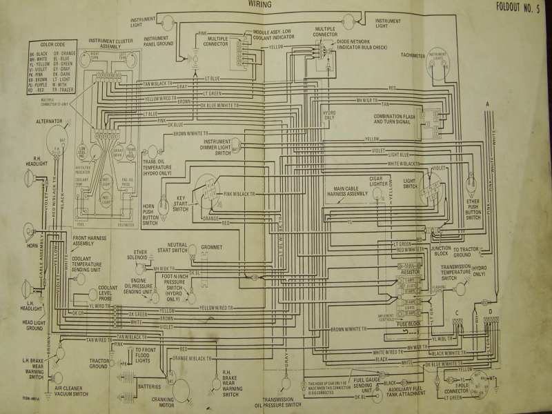 1086 International Tractor Wiring Diagram  Wiring Forums