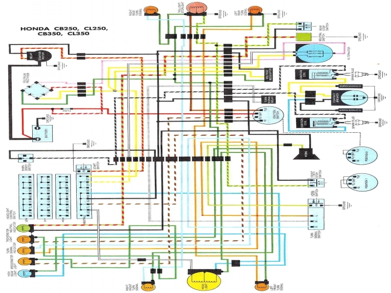 cb350 wiring diagram cb350 wiring harness honda cb 500 1979 wiring diagram - wiring forums