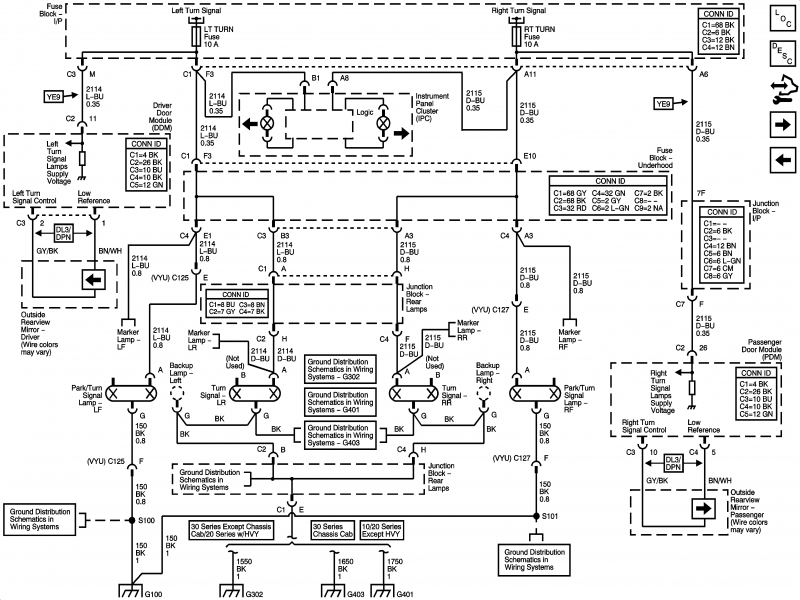 1998 chevy silverado trailer wiring diagram
