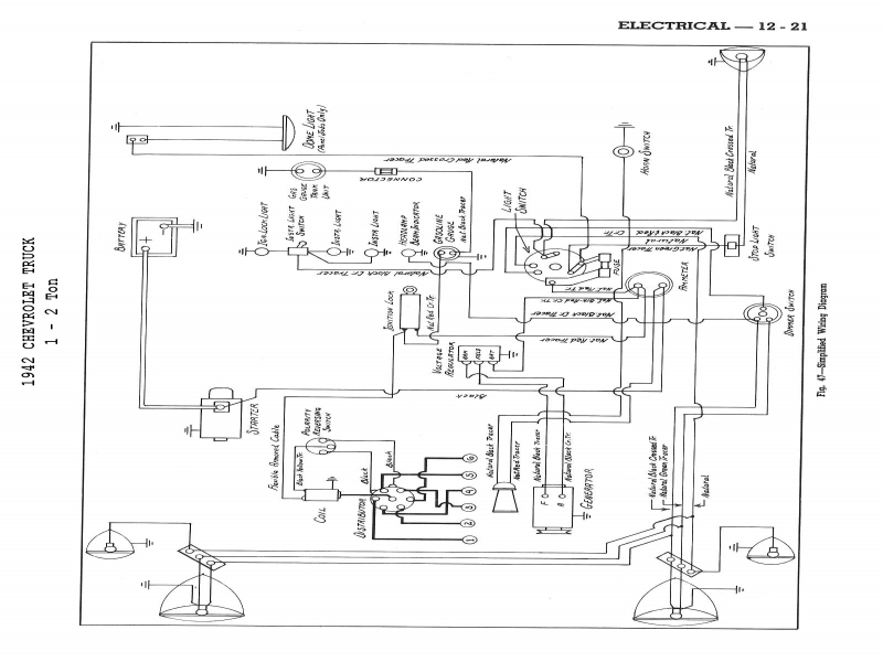1960 Chevy Turn Signal Wiring Diagram  Wiring Forums