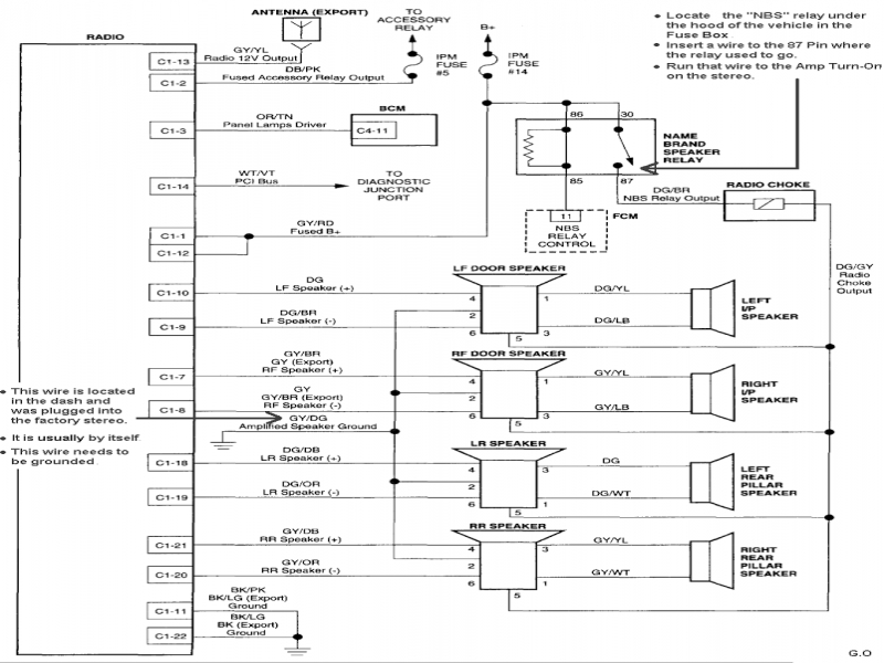 2008 Chrysler Town And Country Wiring Diagram  Wiring Forums