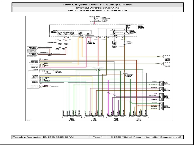 2008 Chrysler Town And Country Wiring Diagram  Wiring Forums