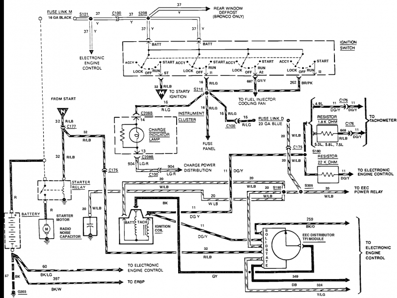 1988 Ford F 150 Fuel System Diagram  Wiring Forums
