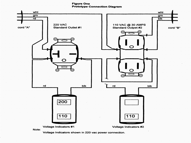 Collection 110 Volt Outlet Wiring Diagram Pictures In
