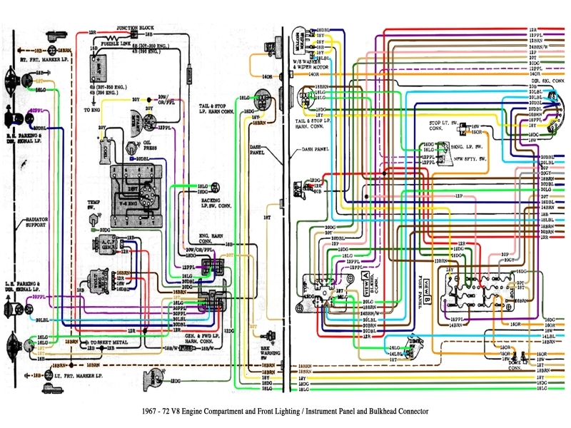 1972 Chevy C10 Pickup Truck Wiring Diagram  Wiring Forums