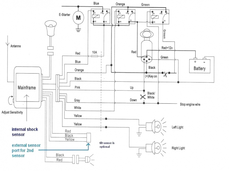Excalibur Remote Start Wiring Diagram  Wiring Forums