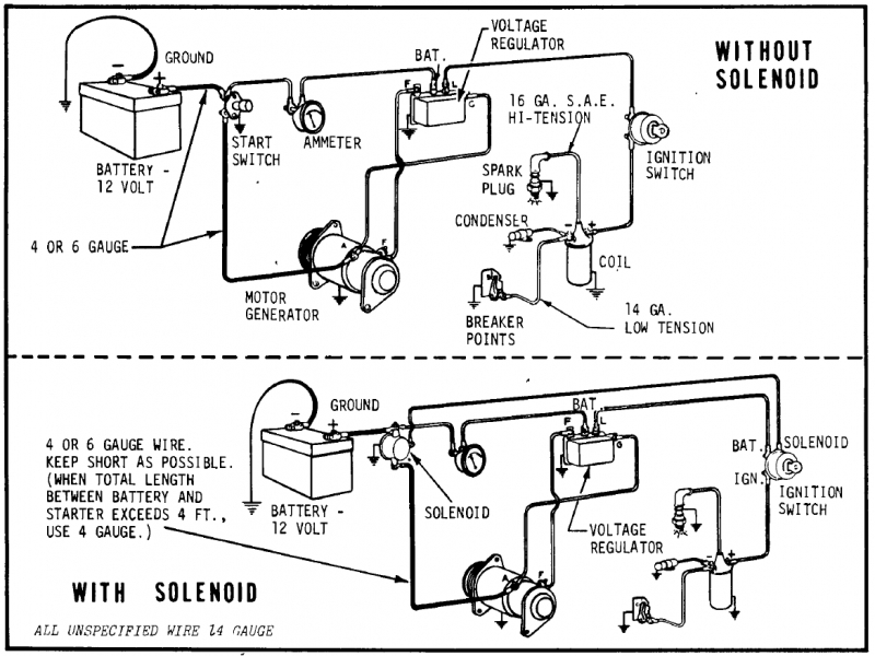 12 volt generator voltage regulator wiring - wiring forums 1966 ford truck voltage regulator wiring diagram