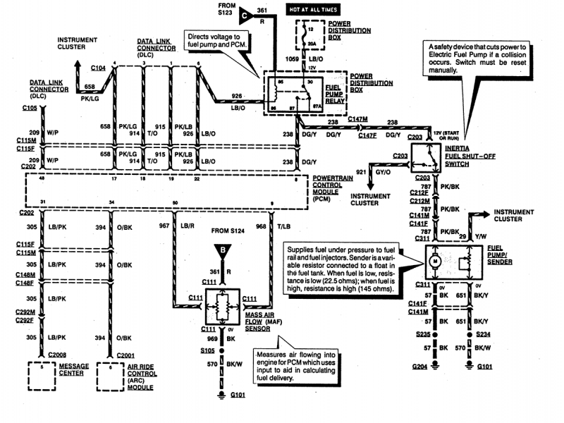 Ford       Explorer       Fuel       Pump    Wiring    Diagram     Wiring Forums