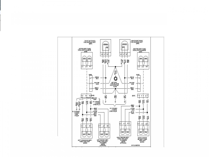 international 9400 ac diagram