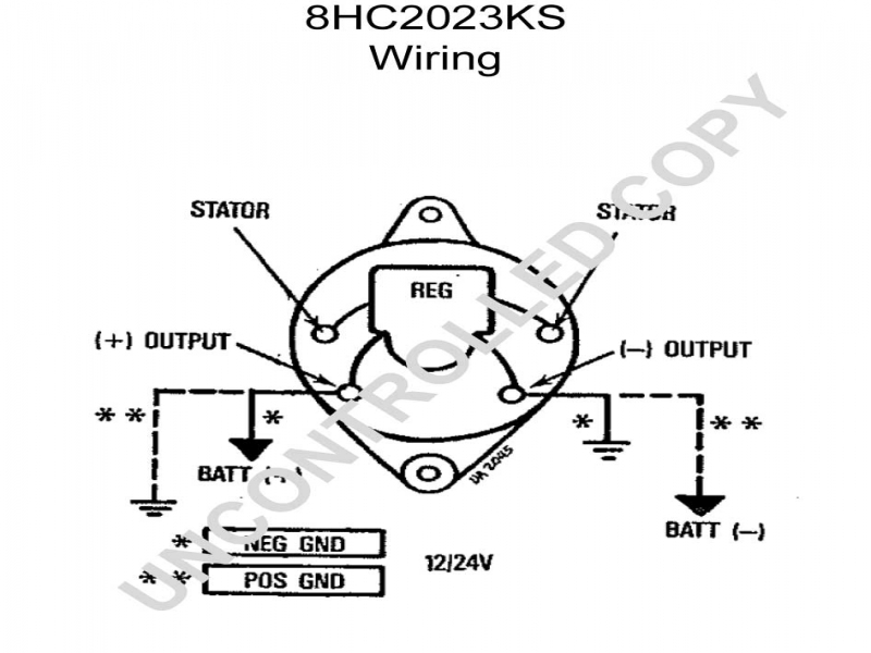 pontiac alternator wiring diagram