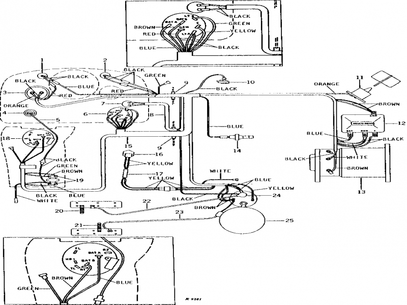 JOHN DEERE 950 WIRING DIAGRAM FOR ALTERNATOR  Auto Electrical Wiring Diagram