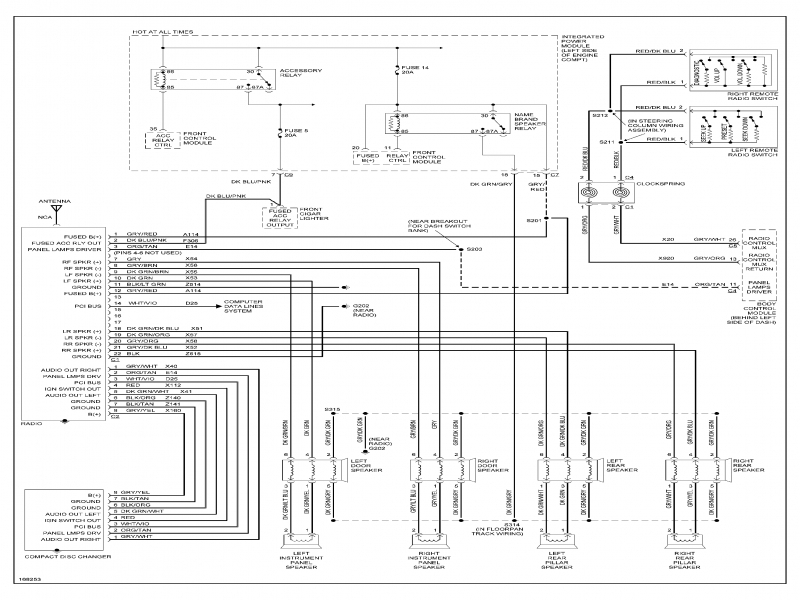 Wiring Diagram For 2004 Dodge Grand Caravan  Wiring Forums