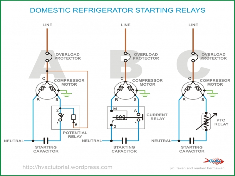 Dorable ptc relay wiring diagram illustration schematic diagram ptc starter relay wiring diagram refrigerator diagram ptc relay asfbconference2016 Images