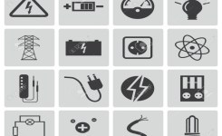 Electrical Clipart Icon – Pencil And In Color Electrical Clipart Icon