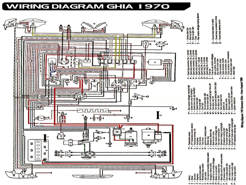 1970 Vw Beetle Tail Light Wiring Diagram : Vw beetle tail light wiring diagram forums
