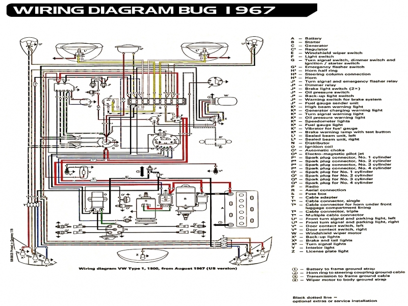diagram 1970 vw beetle fuse box wiring diagram full version