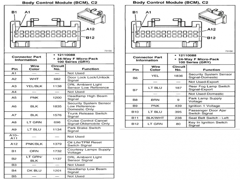 Exciting 2007 Chevy Trailblazer Radio Wiring Diagram