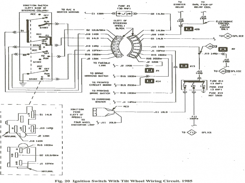 [DIAGRAM] 1994 Chevy Ignition Wiring Diagram FULL Version