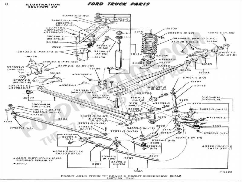 1971 Ford F250 Power Steering Wiring Diagrams on mustang alternator wiring