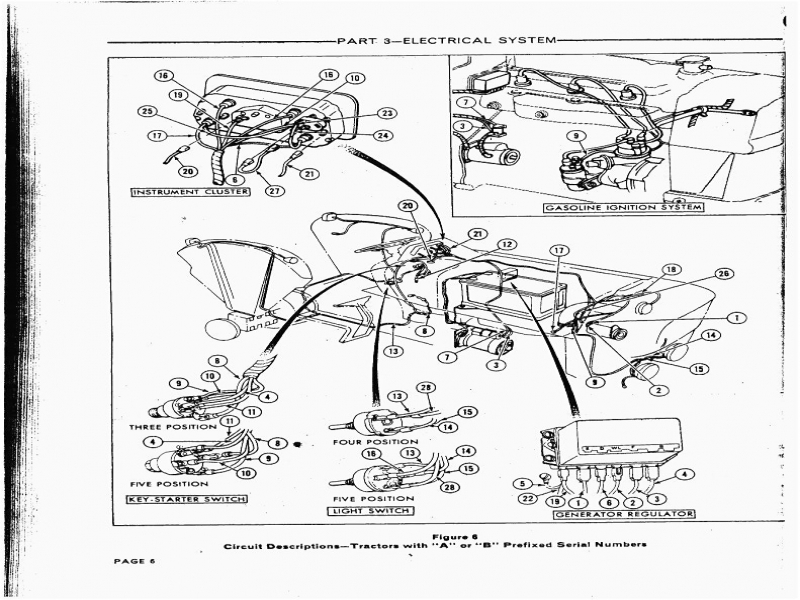 wiring diagram for ford naa jubilee tractor - wiring forums 5600 ford tractor wiring diagram free picture #11