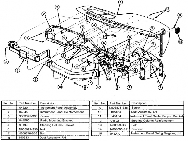 2000 Ford Super Duty Heater Diagrams  Wiring Forums