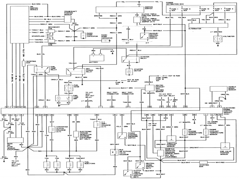 Ford Explorer Wiring Diagram Wiring Diagram Collection