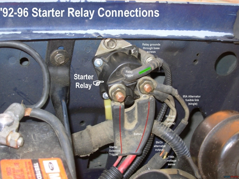Toyota Starter Relay Wiring Diagram Also Starter Relay Wiring Diagram