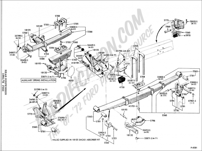 ford f 150 front end suspension diagram