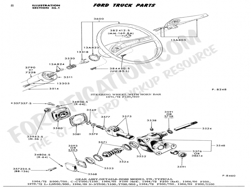 Ford F 250 Steering Column Diagram