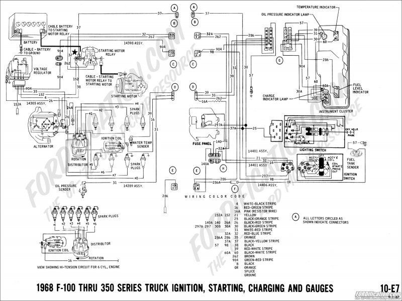 72 ford truck ignition switch wiring schematic diagrams rh bestkodiaddons co Ford Ignition Coil Wiring Diagram Ford Ignition Coil Wiring Diagram