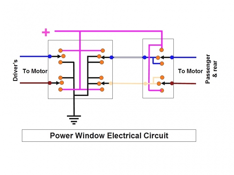 Gm Power Window Motor Wiring Three Lights WiringDiagram 4 Wires  Wiring Forums