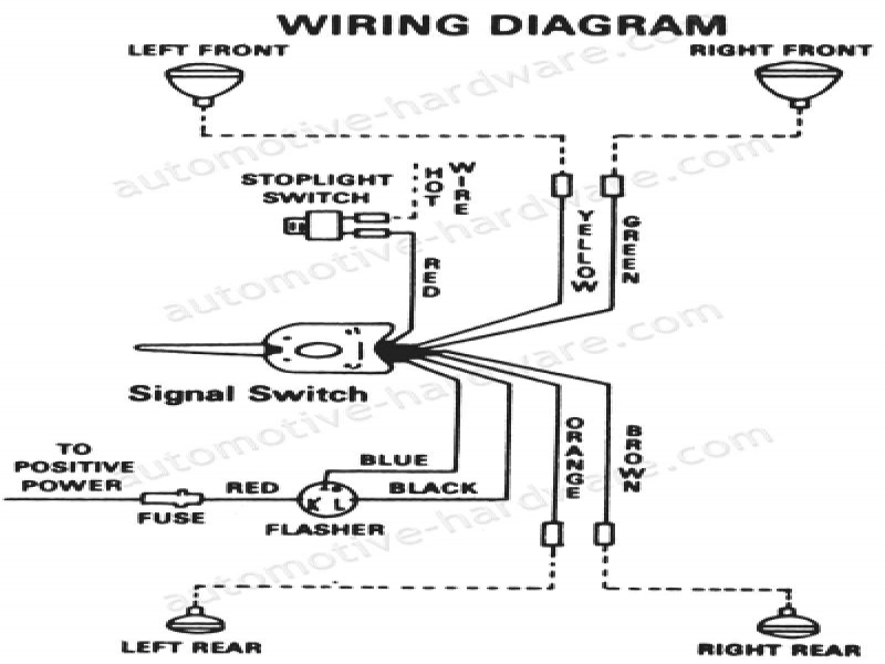 Grote Universal Turn Signal Switch Wiring Diagram