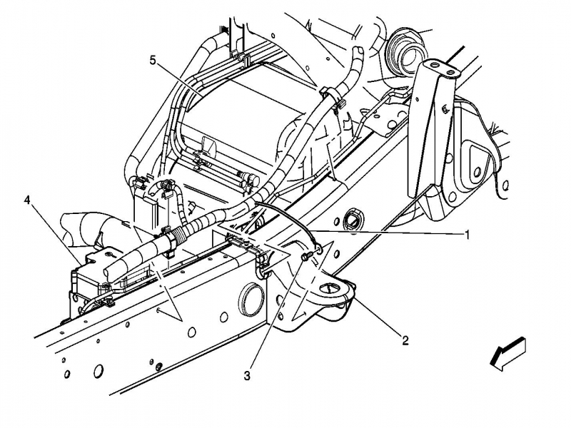 2002 chevy silverado transfer case diagram