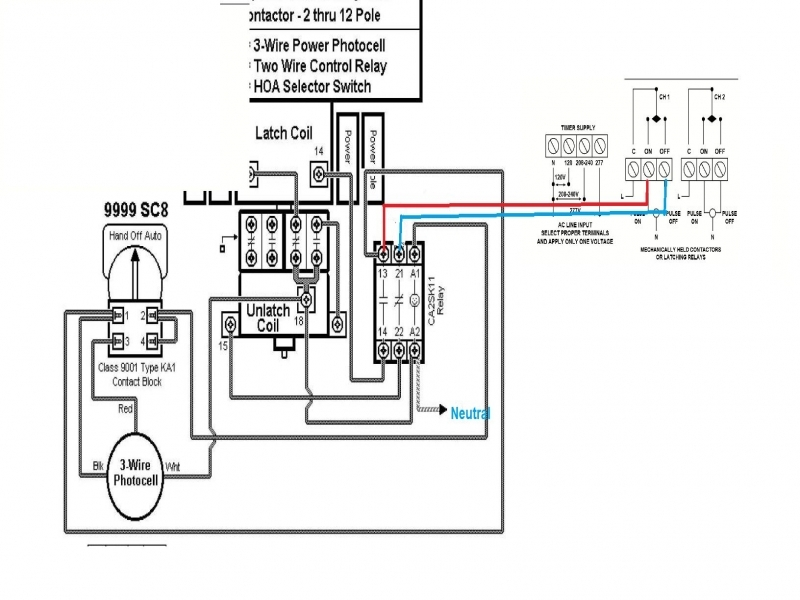Hand Off Auto Switch Wiring Diagram  Wiring Forums