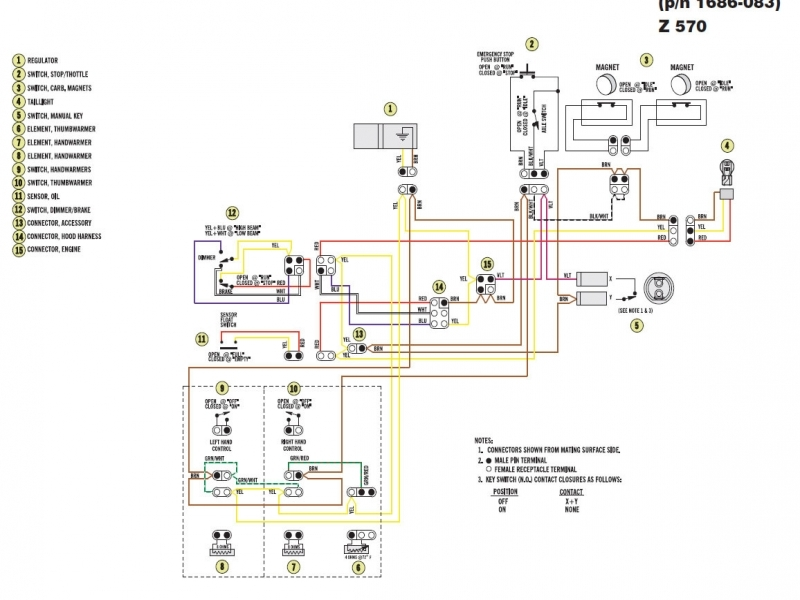 Arctic Cat 400 Wiring Diagram  Wiring Forums