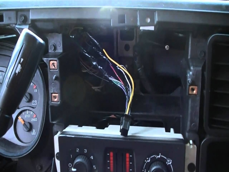 2004 Chevy Silverado 2500hd Radio Wiring Diagram