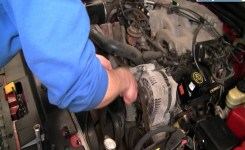How To Install Replace Engine Belt Idler Pulley Ford Mustang 3.8L