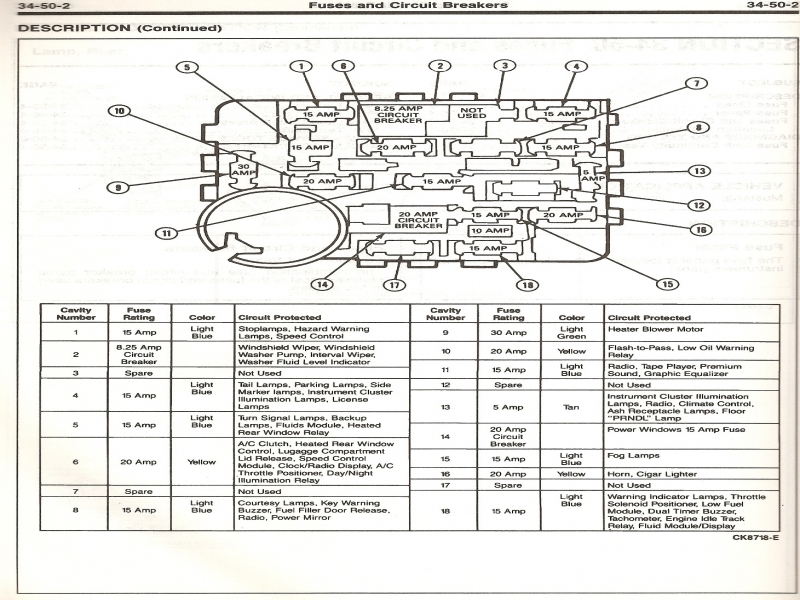 2001 Ford Mustang 3 8 Fuse Box Diagram  Wiring Forums