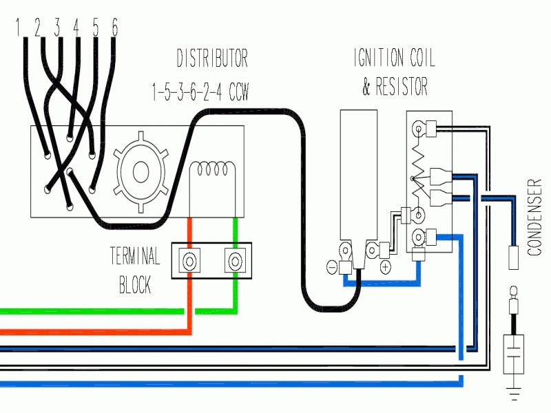Ignition Coil Distributor Wiring Diagram