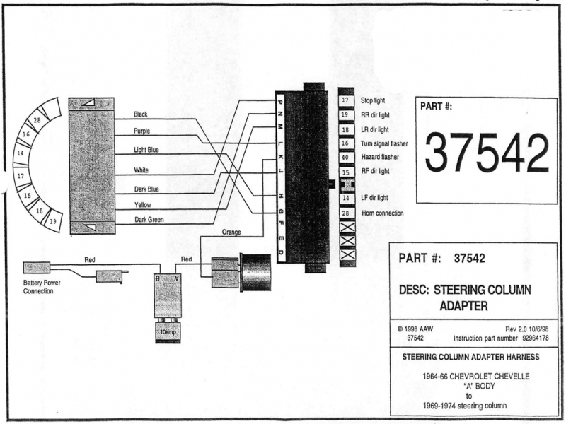 1967 Nova Steering Column Wiring Diagram - Fusebox and Wiring Diagram www -  www.crealla.itcrealla.it