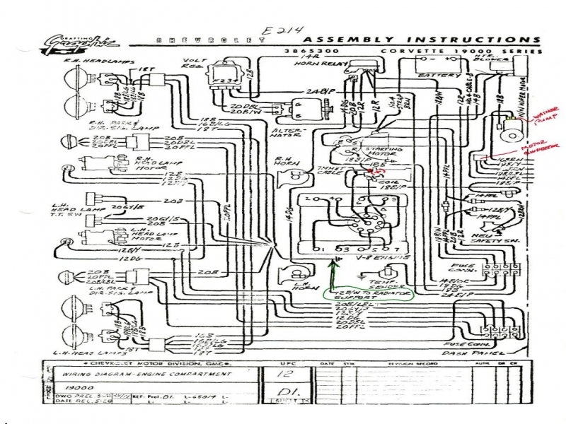 Wiring Diagram For A 1965 Corvette - Wiring Forums