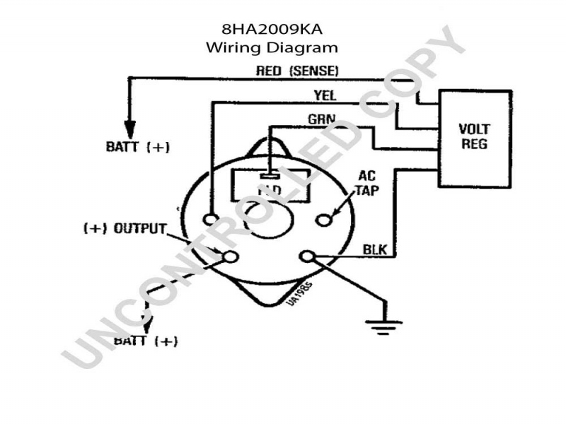 Motorola Alternator Regulator Wiring Diagram  Wiring Forums