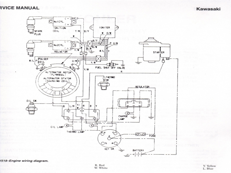 Kawasaki Engine    Wiring       Diagram        Wiring    Forums