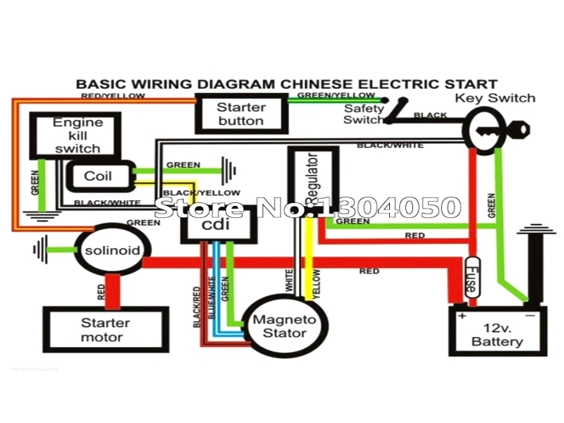 Scooter Wiring Diagram  Wiring Forums