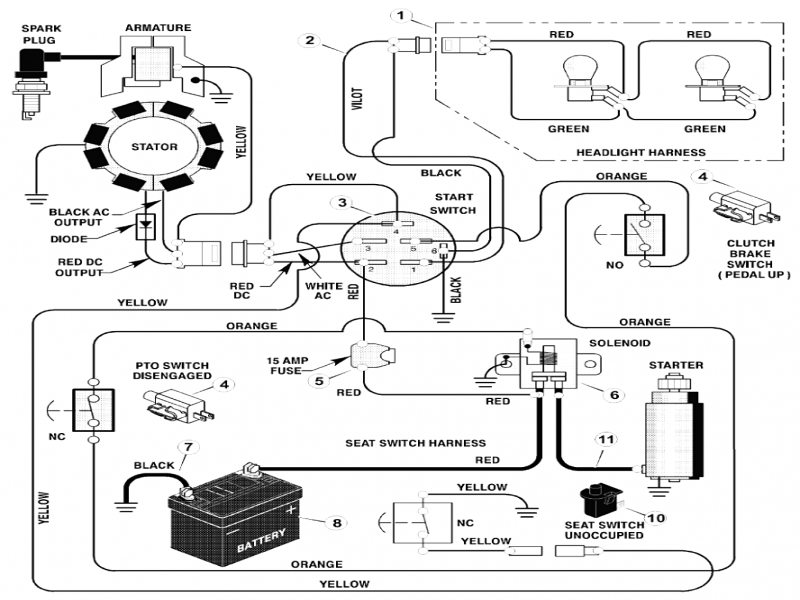 Tractor Ignition Switch Wiring Diagram  Wiring Forums