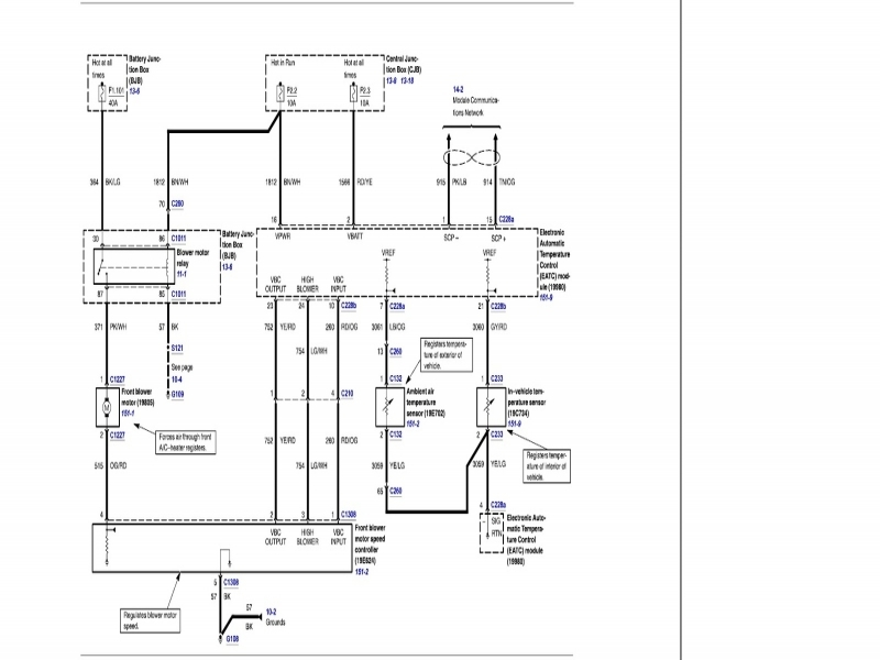 Grand Marquis Wiring Diagram. 1997 mercury grand marquis