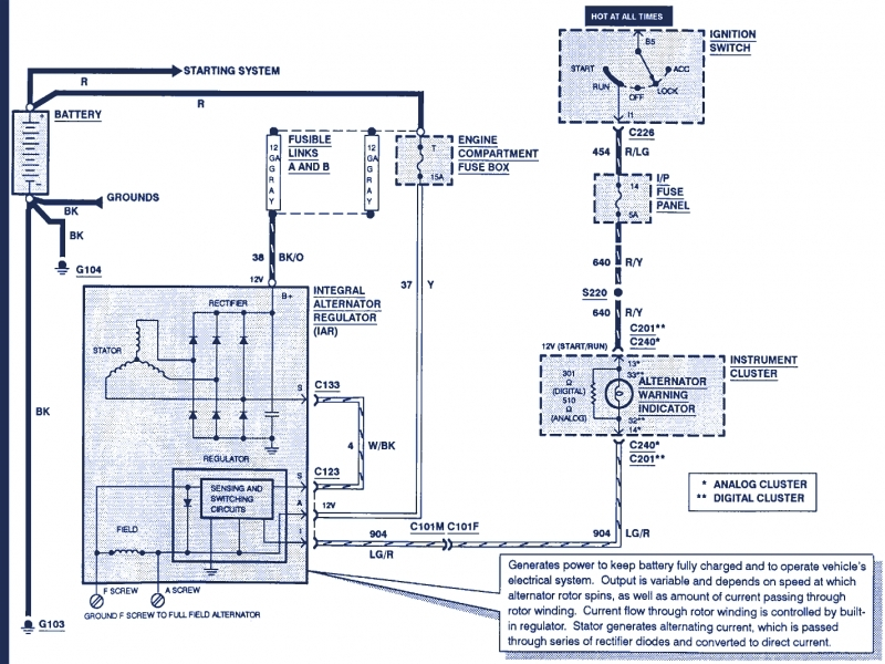 03 Ford Windstar Relay Diagram
