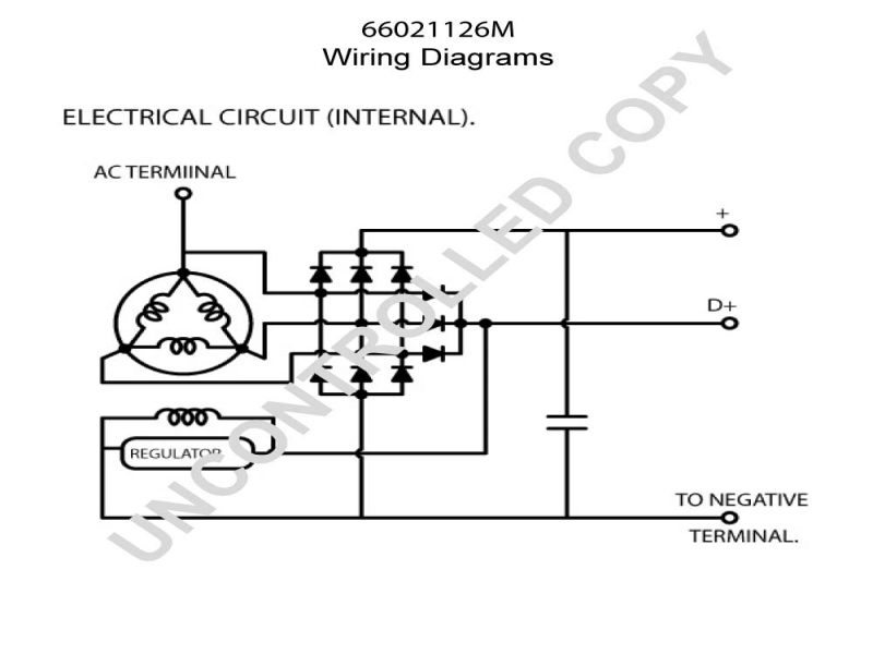 Motorola Alternator Regulator Wiring Diagram Ford 302