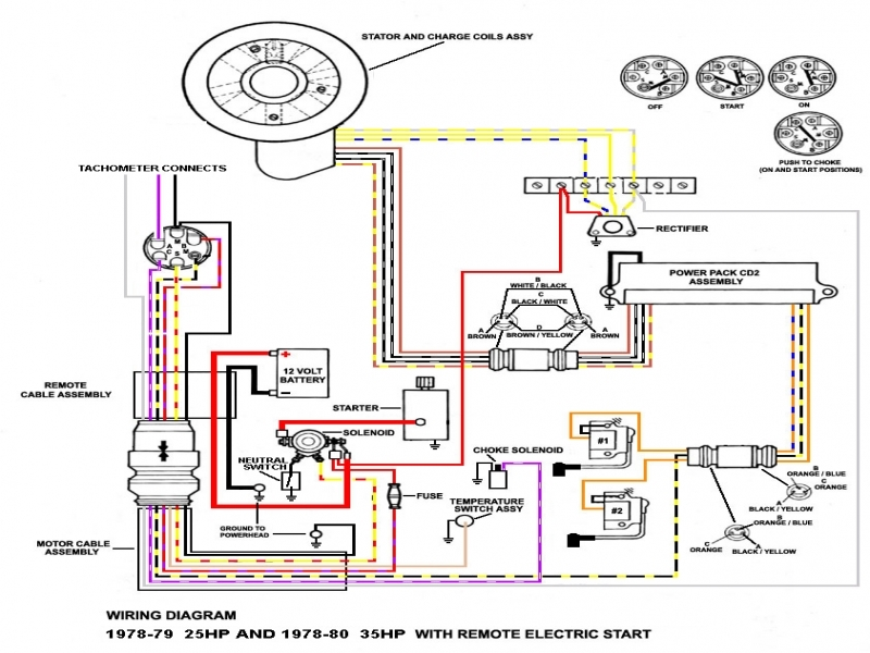 35 Hp Mercury Outboard Wiring Diagram  Wiring Forums